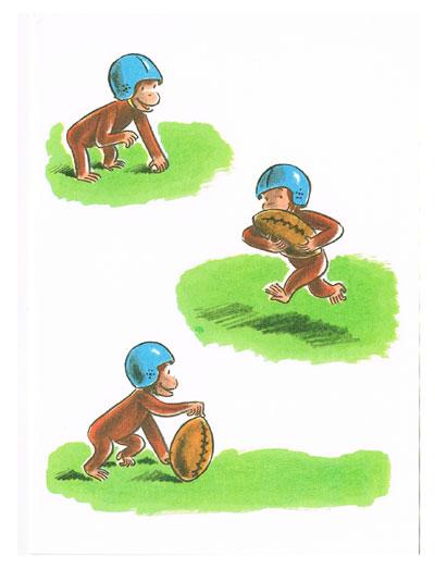 Character Zakka Shop Pretzel – Curious George Birthday Cards