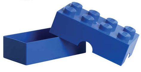 LEGO レゴ ランチボックス ブルー