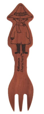 ムーミン 木製フォーク スナフキン
