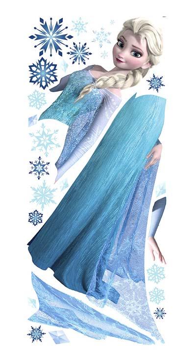 アナと雪の女王 ジャイアントウォールステッカー エルサ FROZEN