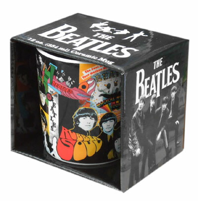 THE BEATLES ビートルズマグカップ Album Collection