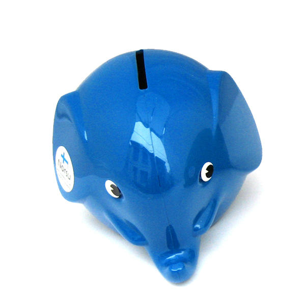 Norsu  (エレファント貯金箱)ブルー