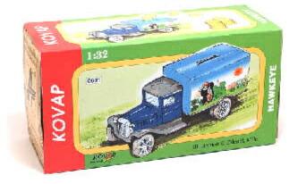 クルテク/ティン製貯金箱(トラック型)pud019