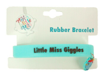 Mr.Men Little Miss ラバーブレスレット
