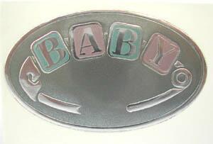 フォイルステッカー BABY
