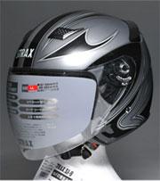 sj-9ジェットヘルメット シルバー