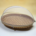 Bali bamboo-made フードストッカー fruit basket-oval L fs3gm