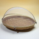 Bali bamboo made food stocker(Fruit basket)・Oval M