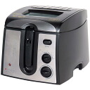 Desk electricity-type deep-fried food device clean fryer DF -542