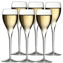 イタレッセ champagne glass and you get a 6 piece set fs3gm
