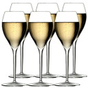 イタレッセグランクリュ champagne glass, six sets advantageous