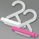 Kitchen clips, 2 pieces set (with hook) Pink / White bag for clips / sealing clip / hush clip / food bag hush clip / sealed bag / save bags