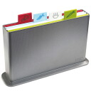 Joseph Joseph index cutting board silver cutting board