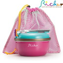 Outdoor cookware Taking handle pot and pan set(Pink/blue)