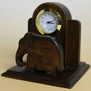 Camelot Camelot Thailand character clocks 5 holder rack elephant