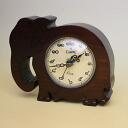 Camelot (Camelot) Thailand letter table clock (elephant)