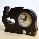 Camelot (Camelot) Thailand letter table clock (elephant parent and child)
