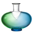 -Made in Japan-Aomori vases (wooden box set) Adelia / Ishizuka glass and glass products