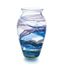 Made in Japan, large vase (jar) f-62366 Adelia / Ishizuka glass and glass products
