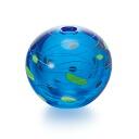 Product made in Japan, round shape, small vase (water balloon pattern )f-62400 vase / Ade rear / Ishizuka Glass / glassware)