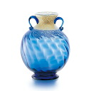 Made in Japan-blue vases, large, f-79805 Adelia / Ishizuka glass and glass products