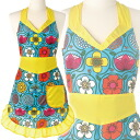 Freedoshare of girl apron blue cute childminder cute fashionable ladies ' aprons mother's day birthday Valentine's day