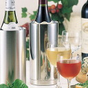 Stainless steel double wine cooler slim mirror fs3gm