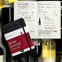A notebook for wine leaks; a skin wine journal