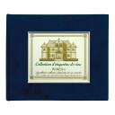 Wine label memory binder (blue) fs3gm
