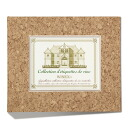 Wine label memory binder (cork)