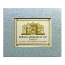 Wine label memory binder(Leaf blue)