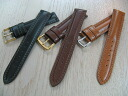 Mens luxury calf (calf leather) watches band W stitch size