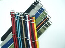 NATO nylon belt size 20 mm 5 colors