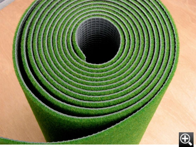 Fiber of the mat for putter exercises