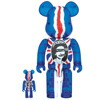 BE@RBRICK God Save The Queen Clear Ver. 100�� �� 400��