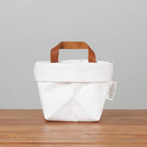 ウォッシュママ ウォッシャブルペーパーホールドバッグ S ホワイト