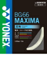 Badminton YONEX (Yonex) and strings BG66 Maxima BG66M