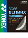 And Rakuten market YONEX (Yonex) Badminton string BG66 アルティマックス BG66UM