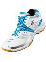 (Yonex) [Rakuten Ichiba] YONEX badminton shoes 20% off power cushion wide 83 mid SHB 83WMD