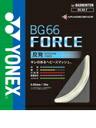 Badminton YONEX Rakuten market (Yonex) and strings BG66 force BG66FORCE ( BG66F )