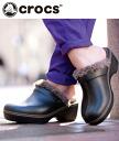 ( Crocs ) Crocs Crocs cobbler Iberia Linda clog women's