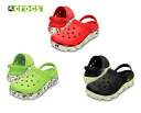 Clocks (crocs) duet sports splatter graphic clog