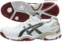Tennis shoes for 3 asics (Asics) GEL-RESOLUTION OC (white X black) TLL712-0190 Omni clay courts