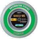"10% off coupon for the Yonex fair and new colors appeared YONEX ( Yonex ) ""nano Ze 95 (NANOGY 95) [100 m roll] NBG95-1 ' Badminton string"