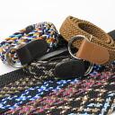 It is black belt OUTDOOR climbing casual mountain girl fashion outdoors festival goods () belt STRECH RING BELT belt men gap Dis stretch belt relaxedly