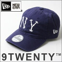 NEW ERA new era 9 TWENTY New York Highlanders Cooperstown light Navy x white N0010944 men's Baseball Cap 2013 fall autumn & winter hats