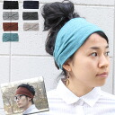 Tavern ライトガーゼ turban knit 201206 (SS 12) 2012 spring new men women mountain girl fashion summer girls Hat Festival fashion outdoor hairband