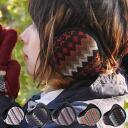 Nordic BOA earmuffs / イヤーウォーマー mens ladies earmuff cold folding compact ear mufflers back snowboarding mountain girl fashion winter fall autumn winter earpiece