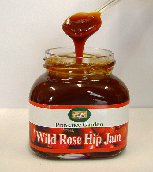 ... Market: Provence Garden special rosehip jam made from wild rose hip