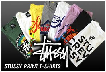 STUSSY PRINT T-SHIRTS